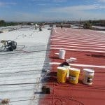 Nátěr rovné střechy