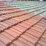 Čištění taškové střechy Olomouc
