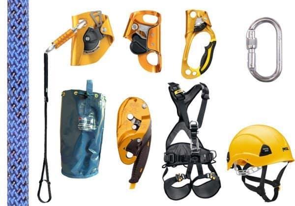 Revize horolezecké techniky