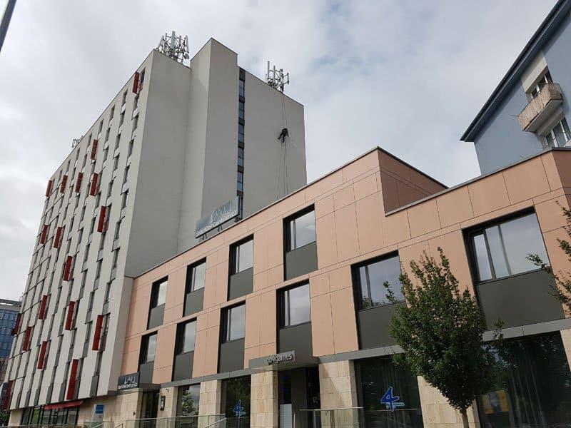 Clarion - Výškové práce Olomouc