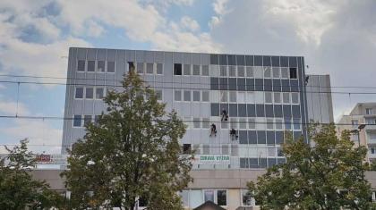 Nátěr fasády - Výškové práce Olomouc